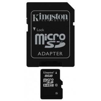 Карта памяти Kingston SDHC Micro SDC10/8GB