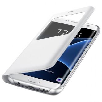 Чехол для Samsung Galaxy S7 Edge, Samsung S View Cover  White