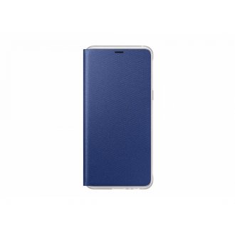 Чехол для Samsung Galaxy A8 2018, Neon Flip Cover Blue