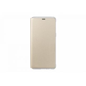Чехол для Samsung Galaxy A8+ 2018, Neon Flip Cover Gold