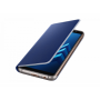 Чехол для Samsung Galaxy A8+ 2018, Neon Flip Cover Blue