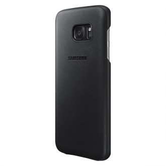 Чехол для Samsung Galaxy S7, Samsung Leather Cover  Black