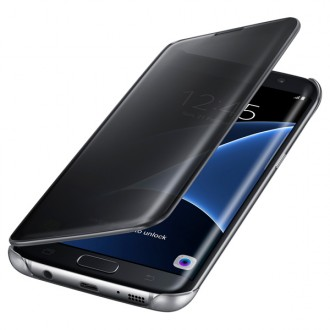 Чехол для Samsung Galaxy S7 Edge, Samsung Clear View Cover  Black