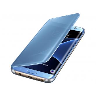 Чехол для Samsung Galaxy S7 Edge, Samsung Clear View Cover  Blue