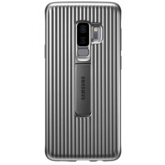 Чехол для Samsung Galaxy S9+, Samsung Protective Standing Cover  Silver