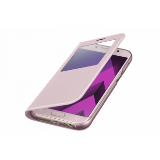 Чехол для Samsung Galaxy A7 2017, Samsung S View Standing Cover Pink