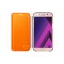 Чехол для Samsung Galaxy A3 2017, Samsung Neon Flip Cover  Pink