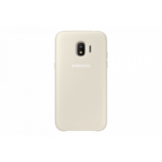 Чехол для Samsung Galaxy J2 2018, Dual Layer Cover Gold