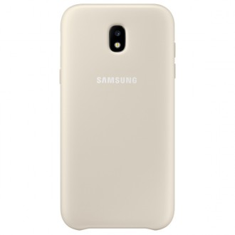 Чехол для Samsung Galaxy J5 2017, Dual Layer Cover Gold