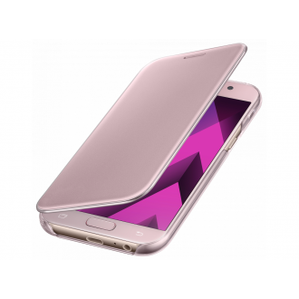 Чехол для Samsung Galaxy A5 2017, Samsung Clear View Cover Pink