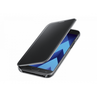 Чехол для Samsung Galaxy A7 2017, Clear View Cover Black