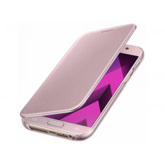 Чехол для Samsung Galaxy A7 2017, Clear View Cover Pink