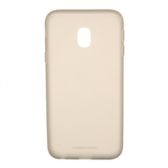 Чехол для Samsung Galaxy J3 2017, Jelly Cover Gold