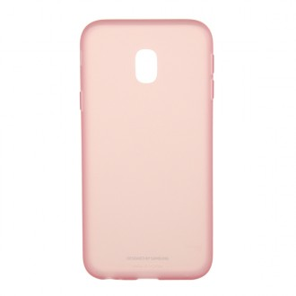 Чехол для Samsung Galaxy J3 2017, Jelly Cover Pink