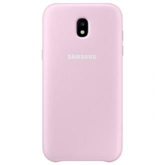Чехол для Samsung Galaxy J3 2017, Dual Layer Cover Pink