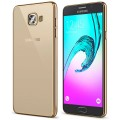 Чехол для Samsung Galaxy A3 2016, Takeit Metal Slim (TKTSGGA310MSGD) Gold