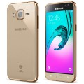 Чехол для Samsung Galaxy J3 2016, Takeit Metal Slim (TKTSGGJ320MSGD) Gold