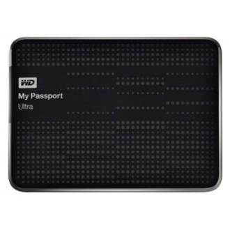Внешний жесткий диск Western Digital My Passport Ultra 2Tb WDBBUZ0020BBK black