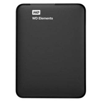 "Внешний жесткий диск Western Digital Elements Portable 2.5"" 1TB Black WDBUZG0010BBK-EESN"