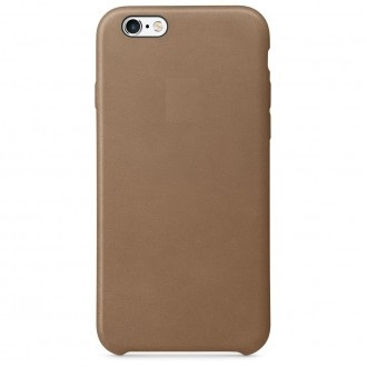 Чехол для iPhone 6/6S Plus, Apple Leather Case MGQR2ZM/A Olive Brown