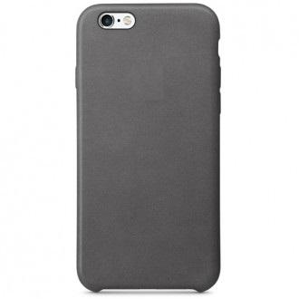 Чехол для iPhone 6/6s, Apple Leather Case MM4D2ZM/A Storm Gray