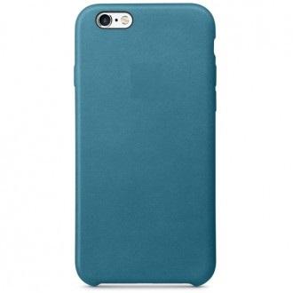 Чехол для iPhone 6/6s, Apple Leather Case MM4G2ZM/A Marine Blue
