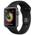 Смарт-часы Apple Watch Series 3 38mm Aluminum Case with Sport Band MQKV2RU/A Black