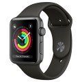 Смарт-часы Apple Watch Series 3 42mm Aluminum Case with Sport Band MR362RU/A Gray