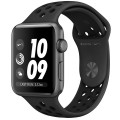 Смарт-часы Apple Watch Series 3 38mm Aluminum Case with Nike Sport Band MQKY2RU/A Black