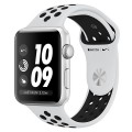 Смарт-часы Apple Watch Series 3 42mm Aluminum Case with Nike Sport Band MQL32RU/A Black/White