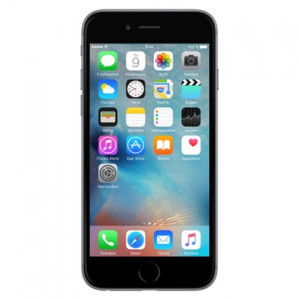 Apple Смартфон Apple iPhone 6s Plus 128Gb Space Gray MKUD2RU/A