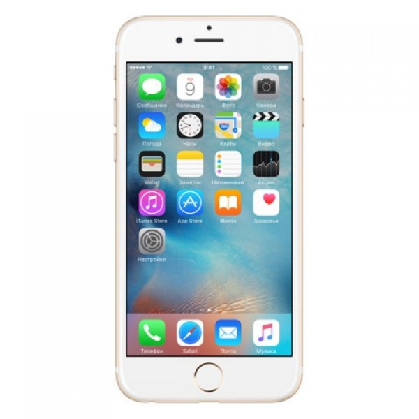 Apple Смартфон Apple iPhone 6s Plus 128Gb Gold MKUF2RU/A