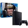Игровая консоль PlayStation 4 1TB Call of Duty:WW II + гарнитура (50060103)Black