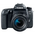 Зеркальный фотоаппарат Canon EOS 77D Kit EF-S 18-55mm f/3.5-5.6 IS STM Black