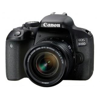 Зеркальный фотоаппарат Canon EOS 800D Kit Black