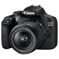 Фотоаппарат зеркальный Canon EOS 2000D EF-S 18-55 IS II Kit Black