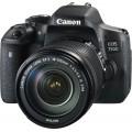 Зеркальный фотоаппарат Canon EOS 750D Kit EF-S 18-135mm f/3.5-5.6 IS STM Black