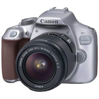 Фотоаппарат зеркальный Canon EOS 1300D EF-S 18-55 IS II Kit Grey