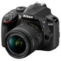 Зеркальный фотоаппарат Nikon D3400 Kit 18-55mm f/3.5-5.6 VR AF-P Black