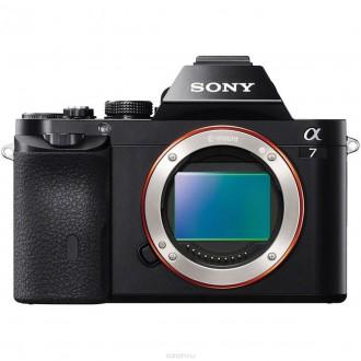 Цифровой фотоаппарат Sony Alpha A7 Body Black
