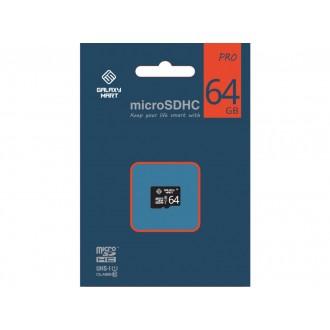 Карта памяти MicroSDHC GalaxyMart 64 GB Class 10 Black
