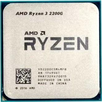 Процессор AMD Ryzen 3 2200G Raven Ridge  OEM