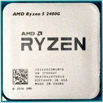 Процессор AMD Ryzen 5 2400G Raven Ridge  OEM