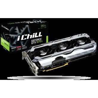 Видеокарта Inno3D GeForce GTX 1070 Ti iChill X3 V2  Ret