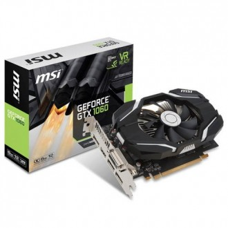 Видеокарта MSI GeForce GTX 1060  Ret