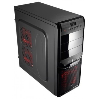 Компьютерный корпус AeroCool V3X Advance Black Edition 600W Black
