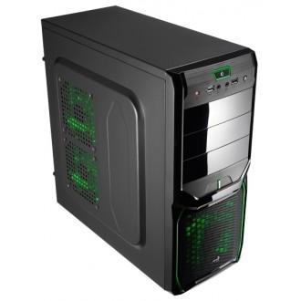 Компьютерный корпус AeroCool V3X Advance Evil Green Edition