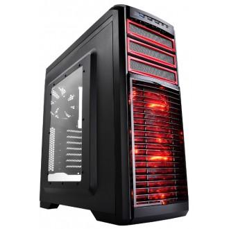 Компьютерный корпус Deepcool Kendomen Red
