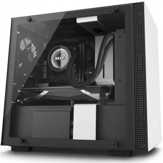 Компьютерный корпус NZXT H200i Black/white