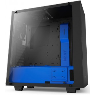 Компьютерный корпус NZXT S340 Elite Black/Blue